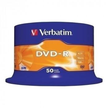 DVD-R VERBATIM MATT SILVER 4,7GB 16X