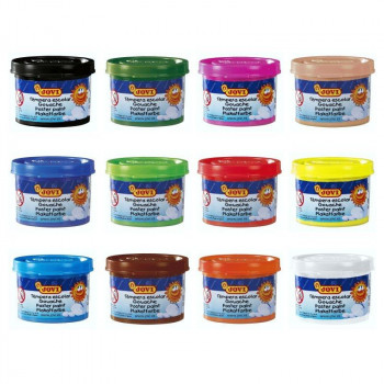 TEMPERA ESCOLAR JOVI 35ML COLORES SURTIDOS
