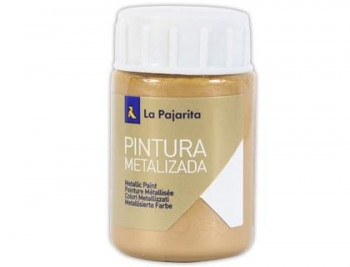 PINTURA LA PAJARITA LATEX METALIZADA MULTIUSOS 35ML