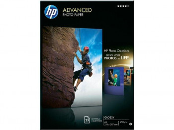 PAPEL HP PHOTO ADVANCED GLOSS