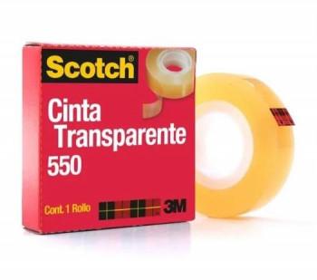 CINTA TRANSPARENTE SCOTCH 550