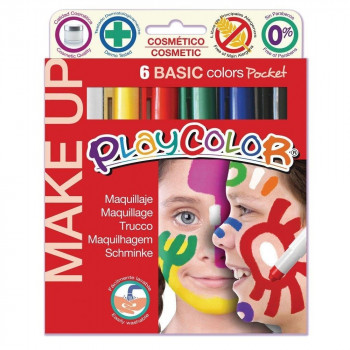 SET LAPICES PLAYCOLOR MAKE UP 6 UNIDADES