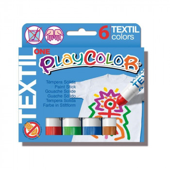 TEMPERA INSTANT PLAYCOLOR ONE TEXTIL 10G