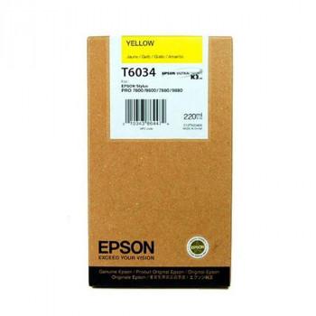 EPSON CARTUCHO T6034  AMARILLO