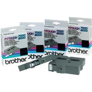 BROTHER P-TOUCH 18MM NEGRO/BLANCO TX-251