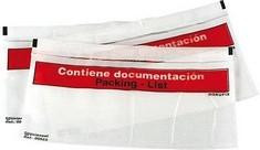 SOBRES DOKUFIX CAJA 500 310 X 230  TRANSPARENTE REF. 6010