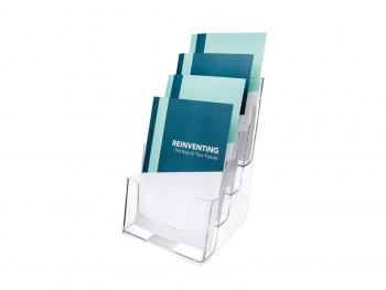 DEFLECTO EXPOSITOR A5 165x159x254 mm 3 o 4POSICIONES 77901