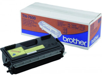 TONER BROTHER TN-7600 NEGRO ORIGINAL 6500PAG