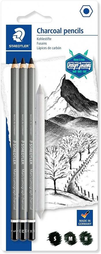 LAPIZ DE GRAFITO DESIGN JOURNEY LUMOGRAPH CHARCOAL 100C