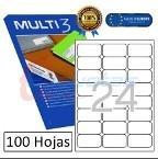 ETIQ. INKJET MULTI3 64x33,9MM 24H (100U)