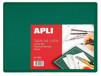 PLANCHA DE CORTE VERDE APLI 300X220
