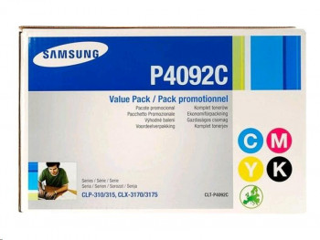 TONER PACK 4 SAMSUNG CLX3175(NG+C+M+Y)