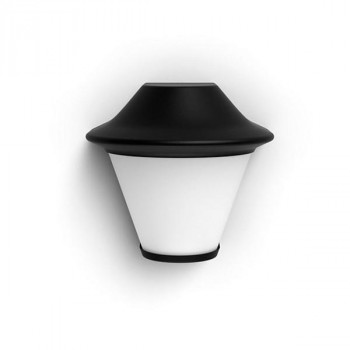 LAMPARA EXTERNA PHILIPS SERRES WALL LANTERN BLACK