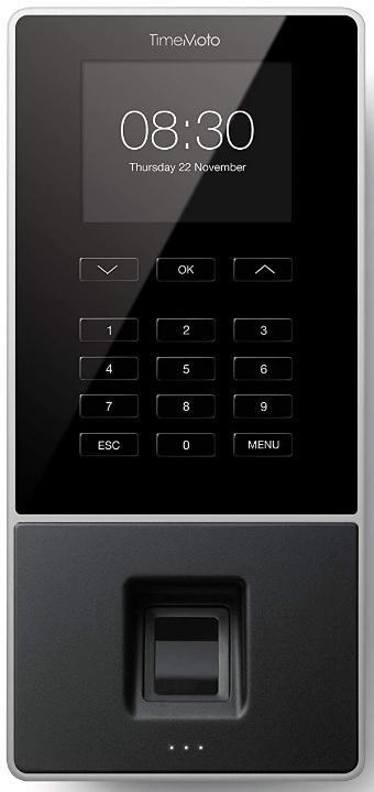 TIMEMOTO TM-626 CON SENSOR RFID Y  HUELLA DACTILAR