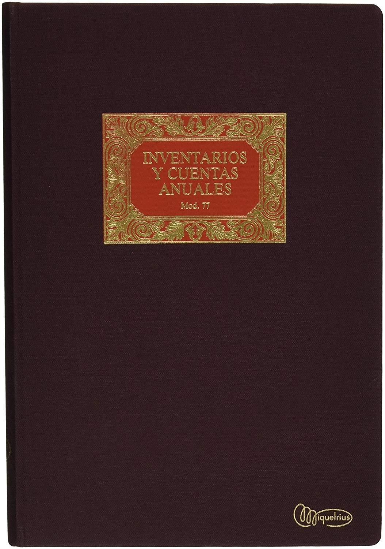 LIBRO INVENTARIO CUENTAS ANUALES MIQUELRIUS A4 NATURAL