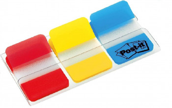 POST-IT INDEX RÍGIDOS 25,4X38 COLORES MATE