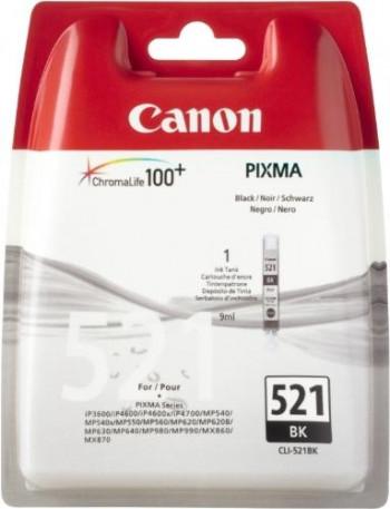 CARTUCHO CANON  CLI-521BK NEGRO BLISTER+ALARM