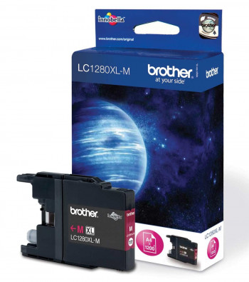 CARTUCHO BROTHER LC 1280XL MAGENTA ORIGINAL