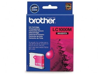 CARTUCHO BROTHER LC1000MBP MAGENTA 400PAG