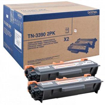TONER BROTHER LASER NEGRO 24.000 PAGINAS PACK 2/DCP8250DN/MF
