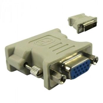 ADAPTADOR CONVERSOR MONITOR ORDENADOR DVI-D 24+1M A VGA