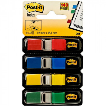 PACK POST-IT INDEX MEDIANOS 11,9X43,1 COLORES TIERRA