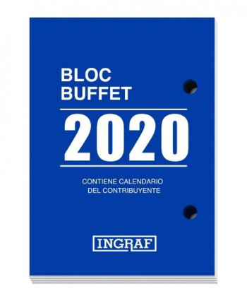 BLOC BUFETE INGRAF 4 IDIOMAS 2020