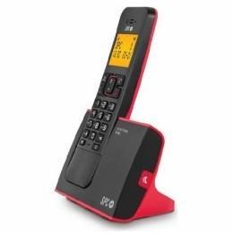 TELEFONO SPC 7290R BLADE NEGRO-ROJO