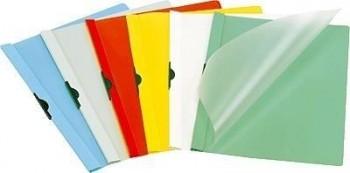 DOSSIER CLIP DURABLE DURACLIP A4 PVC PINZA METALICA 60HOJAS BLANCO 25UND.