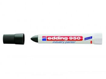 MARCADOR EDDING 950 PERMANENTE PASTA OPACA TRAZO 10 MM. NEGRO REF. 950-001