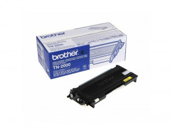 TONER BROTHER TN-2000 NEGRO ORIGINAL 2500PAG