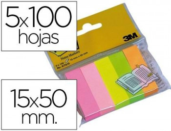 NOTAS POS-IT MININOTES 15x50 100H COLORES