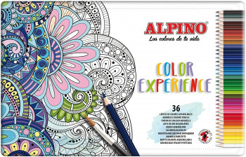 LAPICES ACUARELABLES ALPINO COLOR EXPERIENCE 36 UND