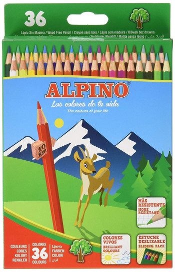 LAPICES ALPINO 36L