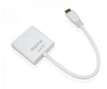 ADAPTADOR APPROX MINI HDMI A VGA