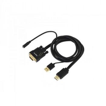 ADAPTADOR HDMI A VGA APPROX APPC22 SONIDO +VIDEO