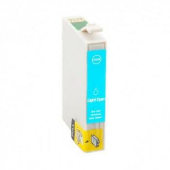 CARTUCHO CSR EPSON T0805 C13T08054010 CIAN LIGHT 13ML