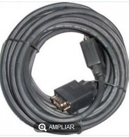 CABLE 3GO VGA M-M 10M APANTALLADO