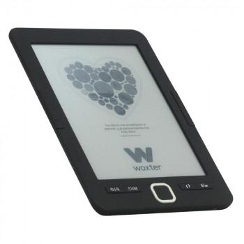 E-BOOK WOXTER SCRIBA 195 6'' E-INK NEGRO