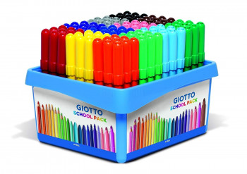 GIOTTO TURBO MAXI SCHOOLPACK 108 UDS.
