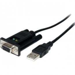 CABLE STARTECH SERIE NULL MODEM DB9H-USB M