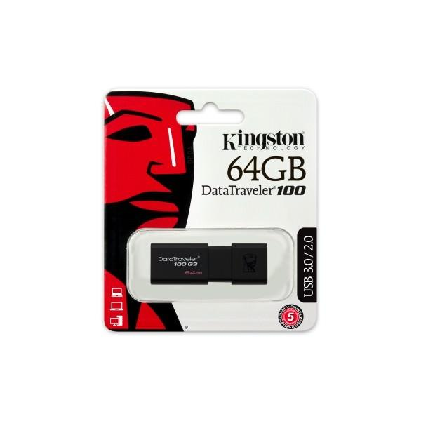 PEN DRIVE KINGSTON 64GB USB 3.0