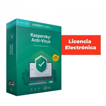 ANTIVIRUS ESD KASPERSKY 5 USUARIOS LICENCIA ELECTRONICA