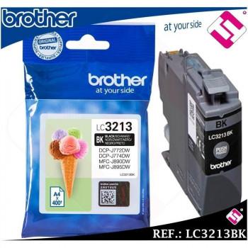 BROTHER CARTUCHO TINTA NEGRO ALTA CAPACIDAD MFCJ890D- LC3213