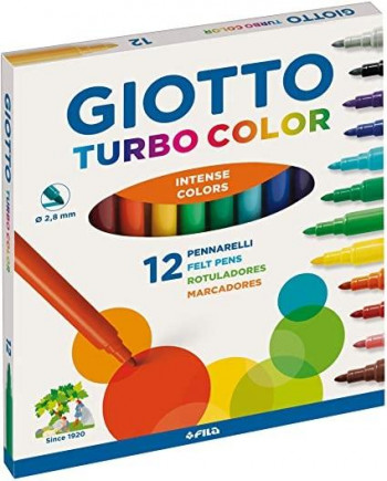 ROTULADORES GIOTTO TURBO COLOR