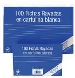 FICHAS CARTULINA