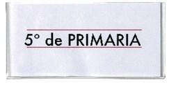 RÓTULO DE TEXTO ADHESIVO