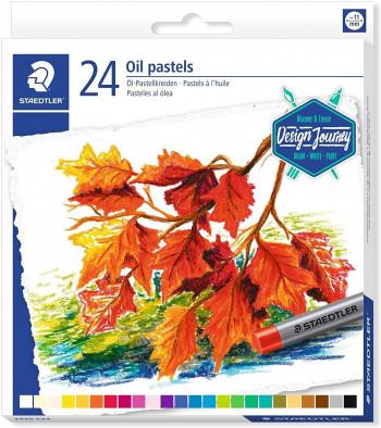 CERAS PASTEL AL OLEO STAEDTLER 2420 DESIGN JOURNEY 24 UND