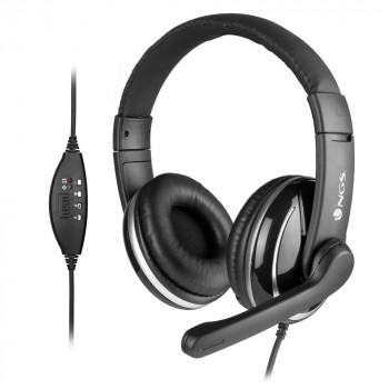 NGS Vox800 Auriculares USB con Microfono